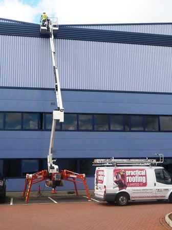 High Level Access Equipment by Birmingham Central Roofing